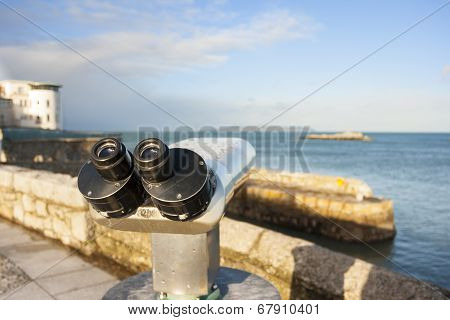 Binoculars By The Sea