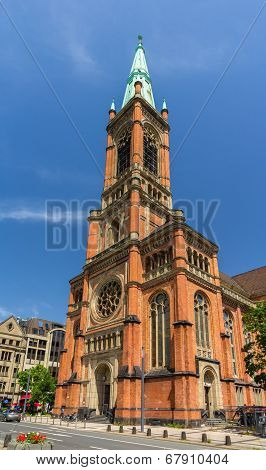 Johannes Church (johanneskirche) In Dusseldorf, Germany