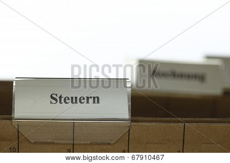 File Folder With Detail