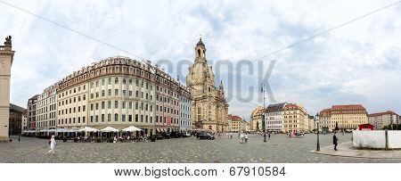 Old Town in Dresden, Germany.