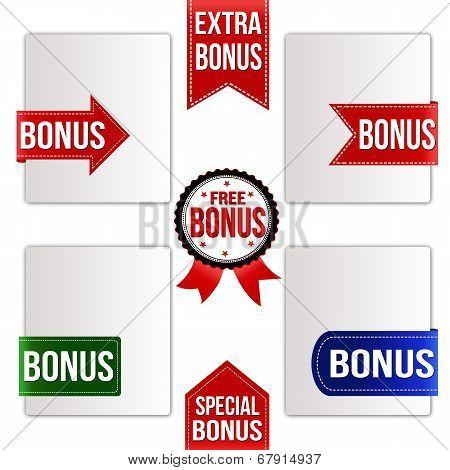 Bonus Ribbons Set
