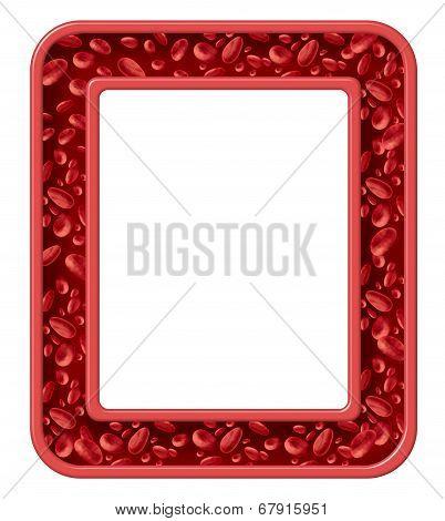 Human Blood Frame