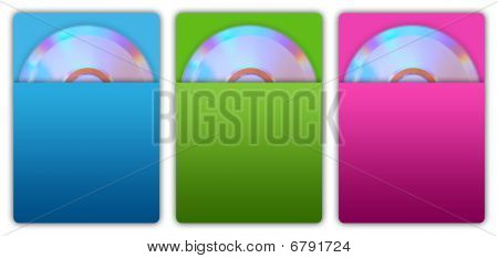 Cd and Paper Cd Case