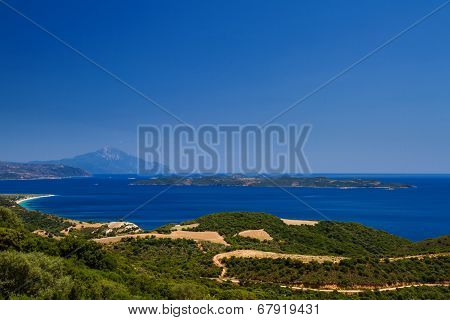 Athon Island And Greek Beaches