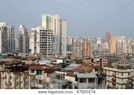 Residential Buildings Of Macau