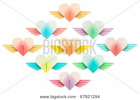 Nine Winged-hearts