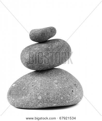 Stones stacked on top of each other