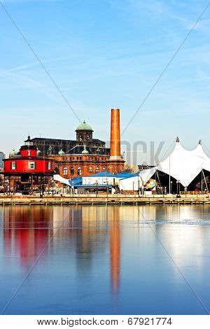 Baltimore Inner Harbor Pier 5.