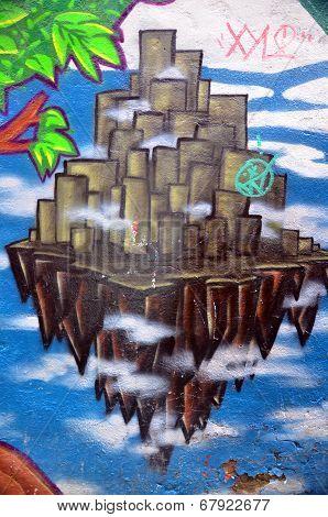 Graffiti downtown of Saint John's