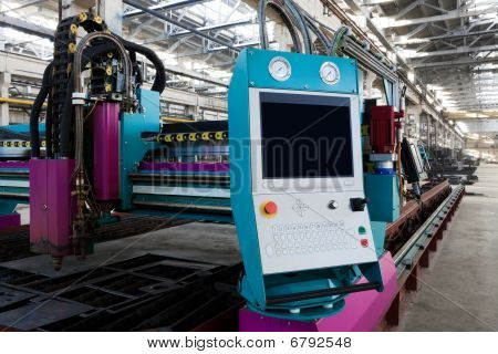 New And Powerful Metalworking Machine