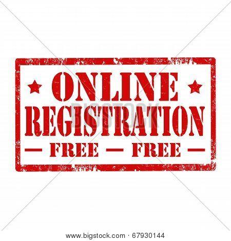 Online Registration-stamp