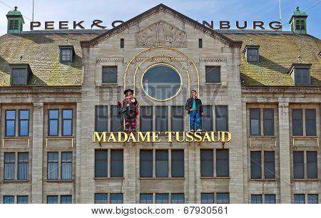 Amsterdam - Madame Tussauds Wax Museum