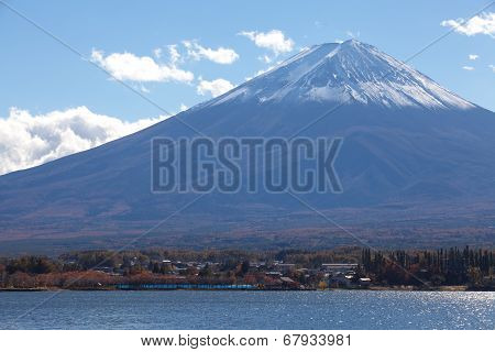 Mountain Fuji in autumn