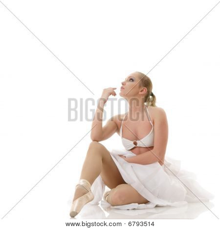 Relaxing Ballet Dancer