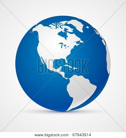 Globe of the world icon