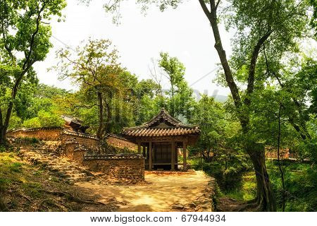 Traditional Korean pagoda