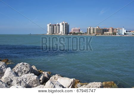 View of Clearwater beach