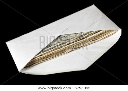 Banknotes In Envelope