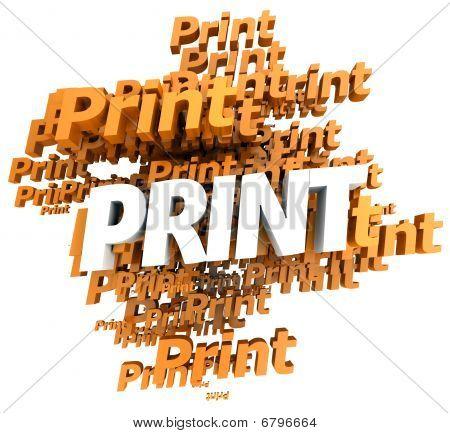 Print In Orange
