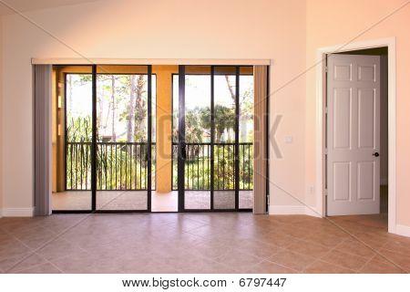 Great Room With Doors