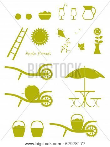 Apple Harvest Icons