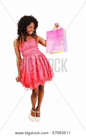 Woman With Shopping Bag's.