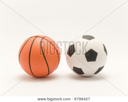 Football And Basketball