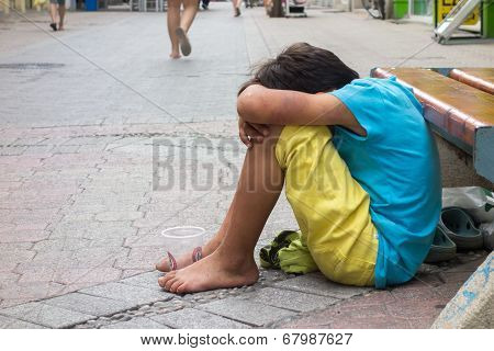 Beggar Child Boy