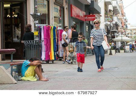 Beggar Child Boy