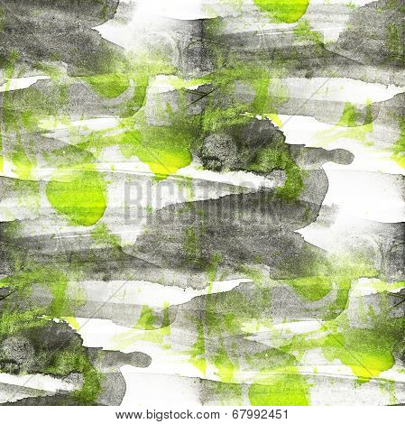 grunge black, green ancient ornament drawing usa colorful patter