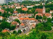 picture of suburban city  - urban landscape - JPG