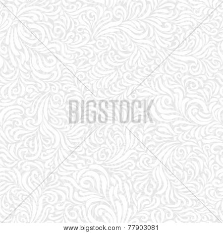 Seamless White Frost Pattern