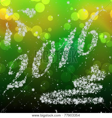 Snowing New Year 2016 Generated Hires Texture