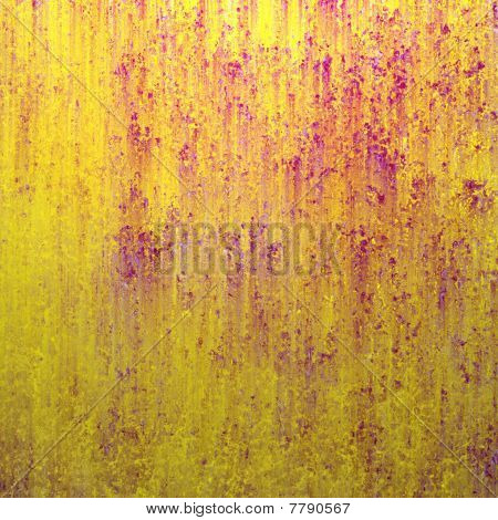 Yellow Background with Grunge