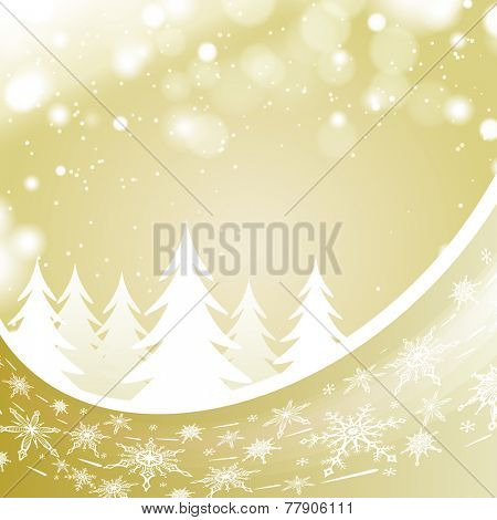 beige winter landscape background