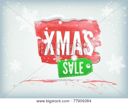 Christmass inky banner