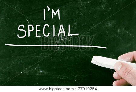 I'm Special Concept