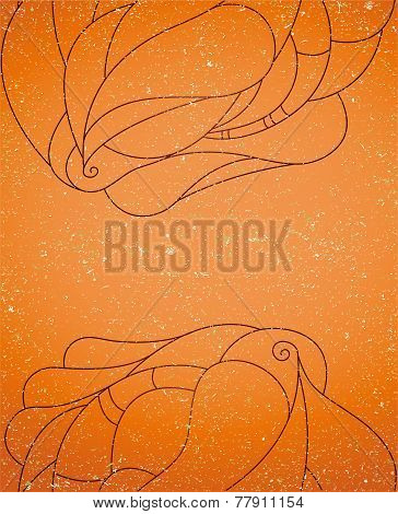 Vintage background with abstraction.
