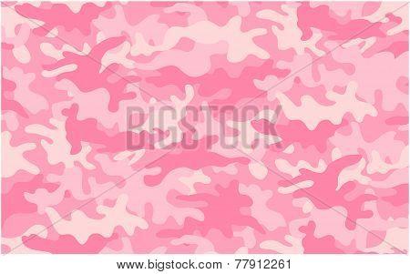 Girly Pink Camo