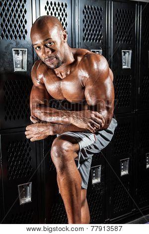 Locker Room Athlete