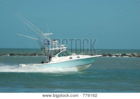 Sport -Fishing Boat