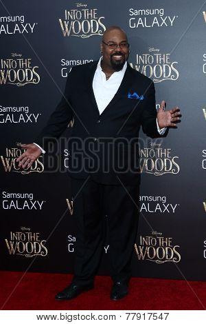 NEW YORK-DEC 8: Actor James Monroe Iglehart attends the