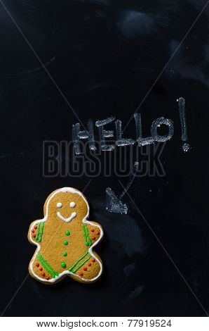 Gingerbread Man Say