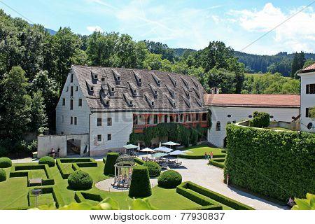 Ambras Castle - Innsbruck - the garden