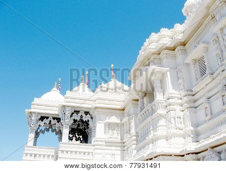 Toronto Shri Swaminarayan Mandir Marble Balconies 2008