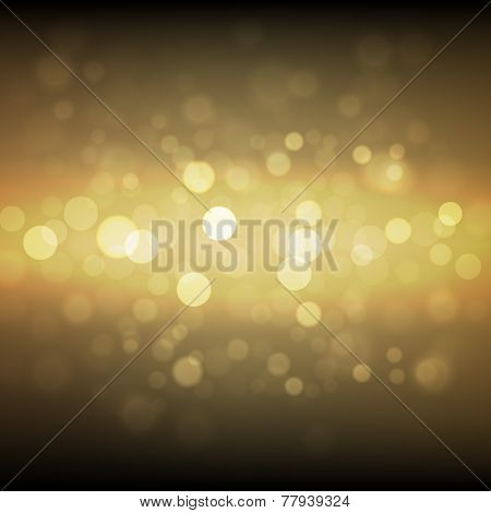 Gold sparkle glitter background. Sparkling flow background