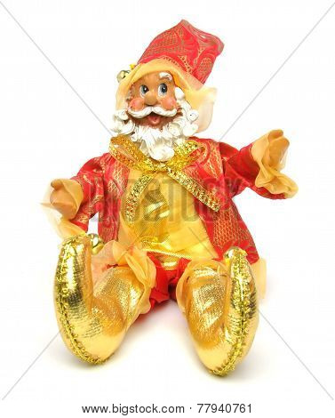 Christmas Santa Claus Doll - Sitting Down