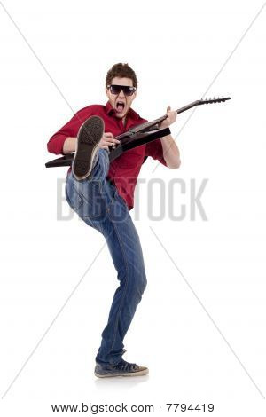 Kicking Guitaris