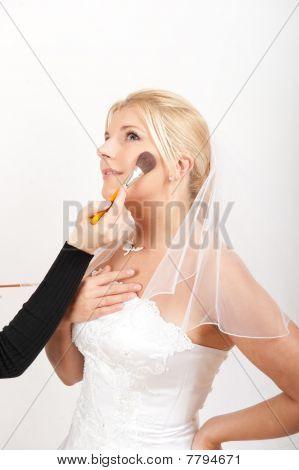Bridal wedding make-up