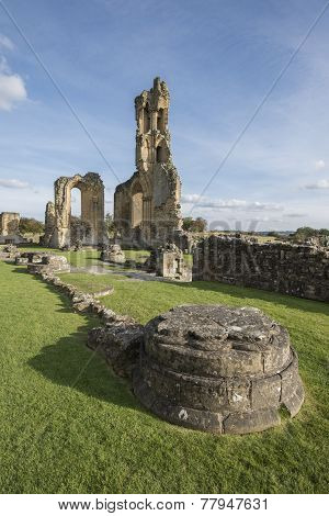Byland Abbey, North Yorkshire, England